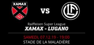 NEUCHÂTEL XAMAX FCS vs FC LUGANO